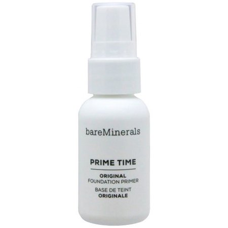 bareMinerals Original Prime Time Foundation Primer, Combats rough patches, flaky dryness, fine lines, excess oil, uneven texture and enlarged pores so that your.., By Bare (Bare Escentuals Prime Time Original Face Primer)