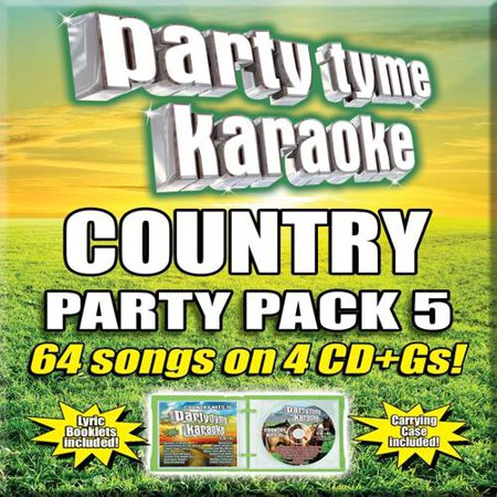 Party Tyme Karaoke  Country Party Pack 5