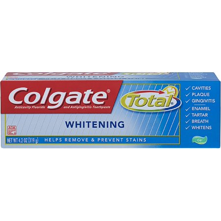 Colgate Blanchiment total Multi-Protection Gel Dentifrice 4,20 oz (pack de 2)