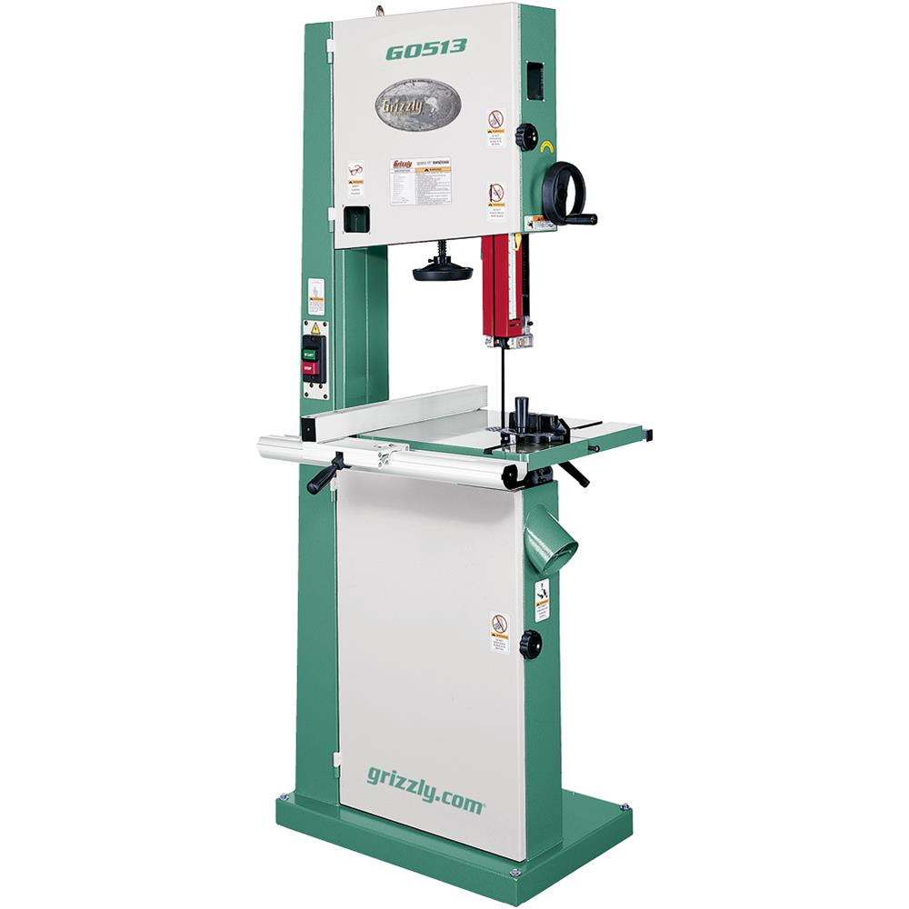 "Grizzly G0513 17"" Bandsaw - 2 HP"