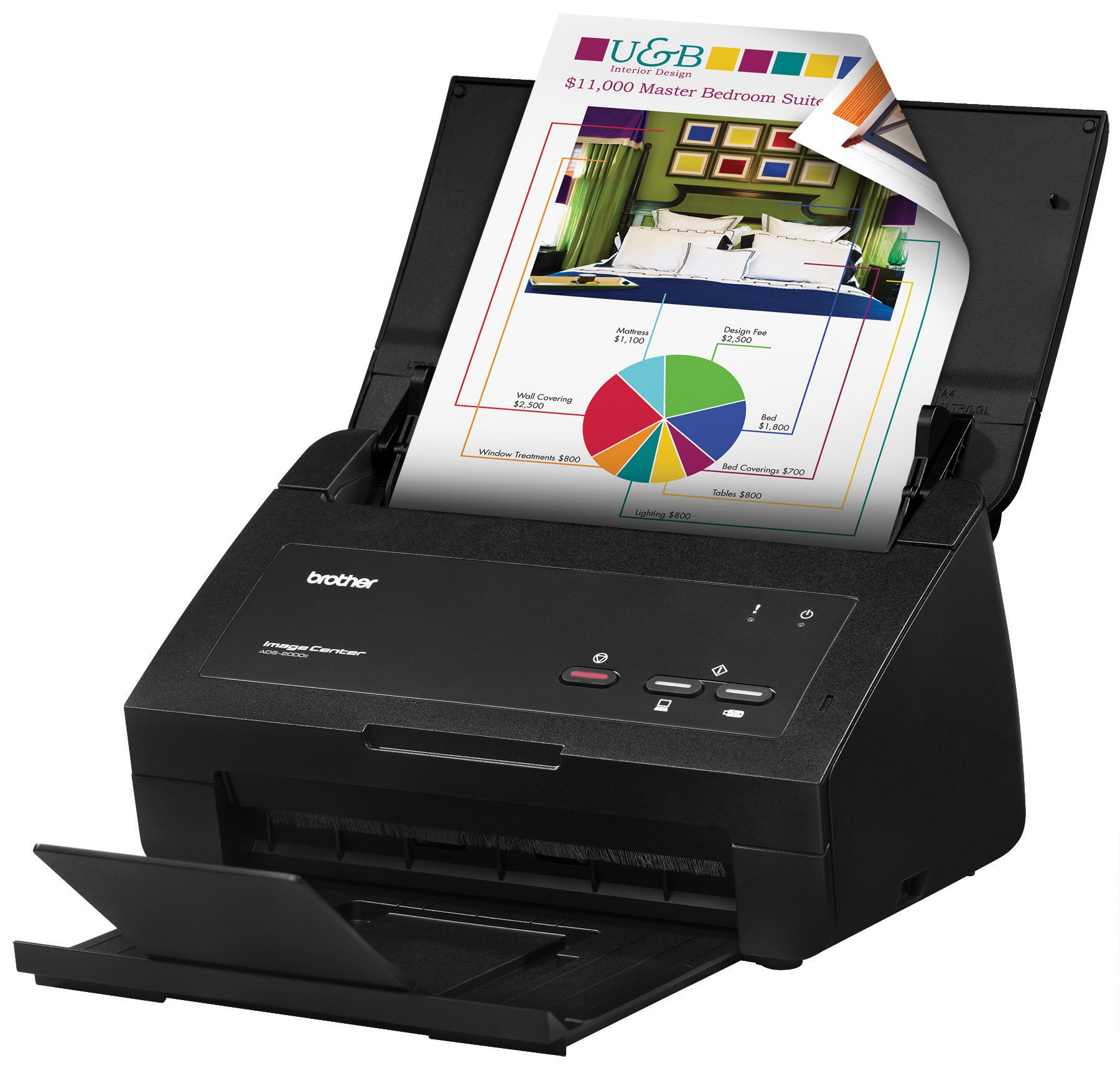 Brother ImageCenter ADS-2000e High Speed Desktop Document...