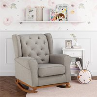 Baby Relax Ariana Tufted Wingback Rocker, Multiple Colors