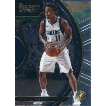 2017-18 Panini Select #84 Yogi Ferrell Dallas Mavericks Basketball - Will Ferrell Basketball Costume