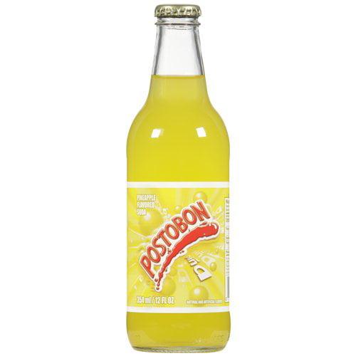 Postobon Pineapple Flavored Soda, 12 oz