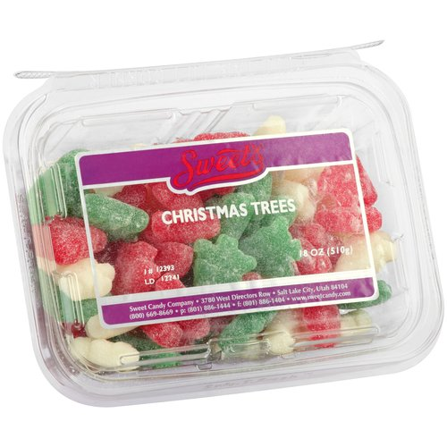 Sweet's Christmas Trees Candies, 18 oz