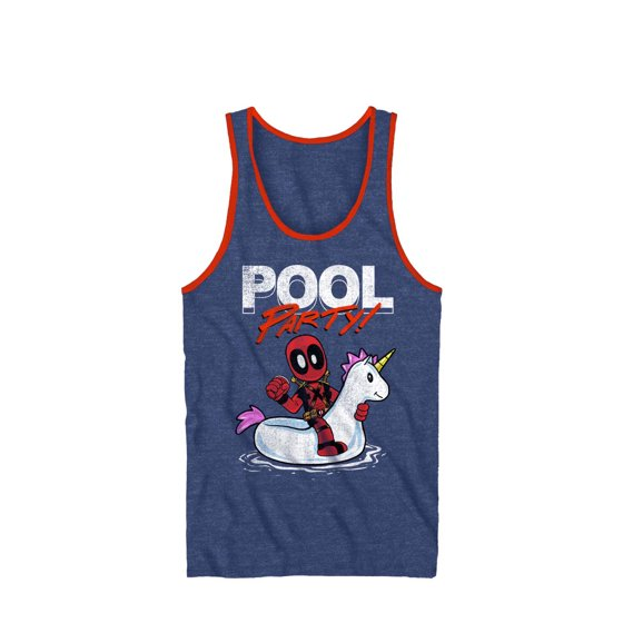 33fbac2fbb273 Deadpool - pool party Men s graphic tank top - Walmart.com