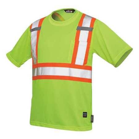 Hi-Vis Jacket Polyester 5X Flo Green