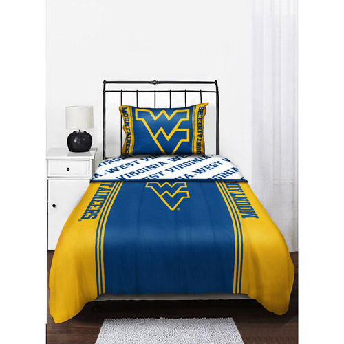 NCAA West Virginia Mountaineers Twin/Full Comforter