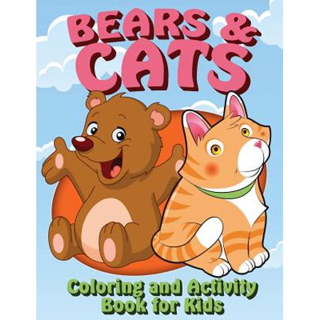Bears and Cats Coloring and Activity Book for Kids](Kids Printable Halloween Coloring Pages)
