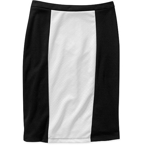 Stitch Women's Plus-Size Embossed Pencil Skirt