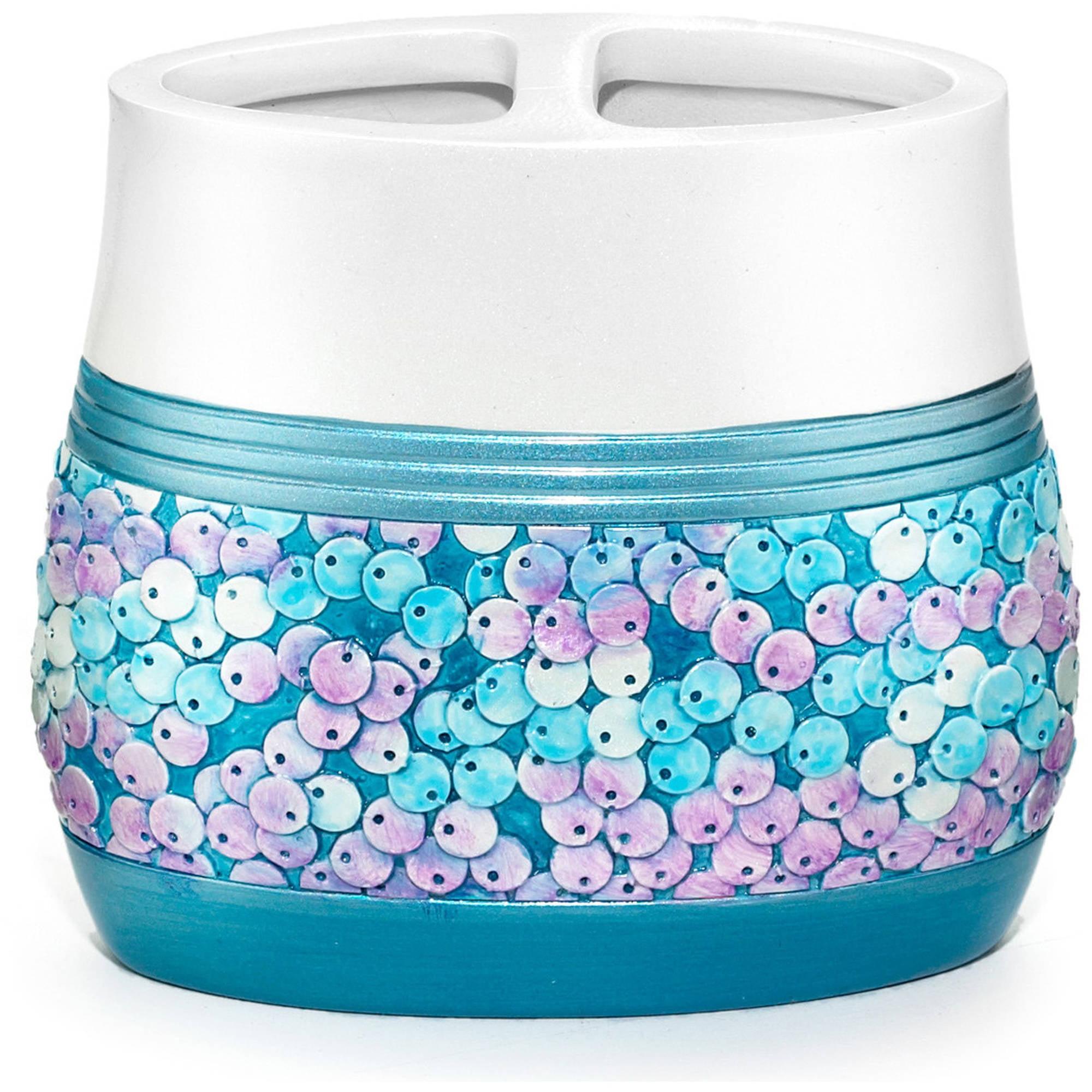 Popular Bath Tammi Aqua Bath Collection Bathroom Tooth Brush Holder