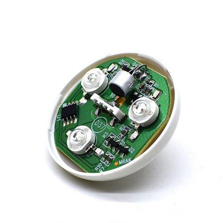 USB Small Size Magic Ball lamp Touch sensor Neon Sphere Car Interior Light - image 9 de 9