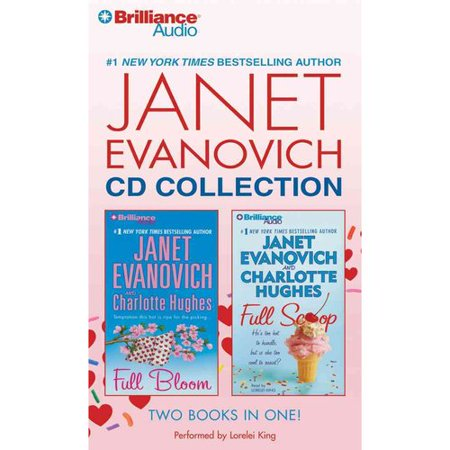 Janet Evanovich Cd Collection: Full Bloom   Full Scoop by