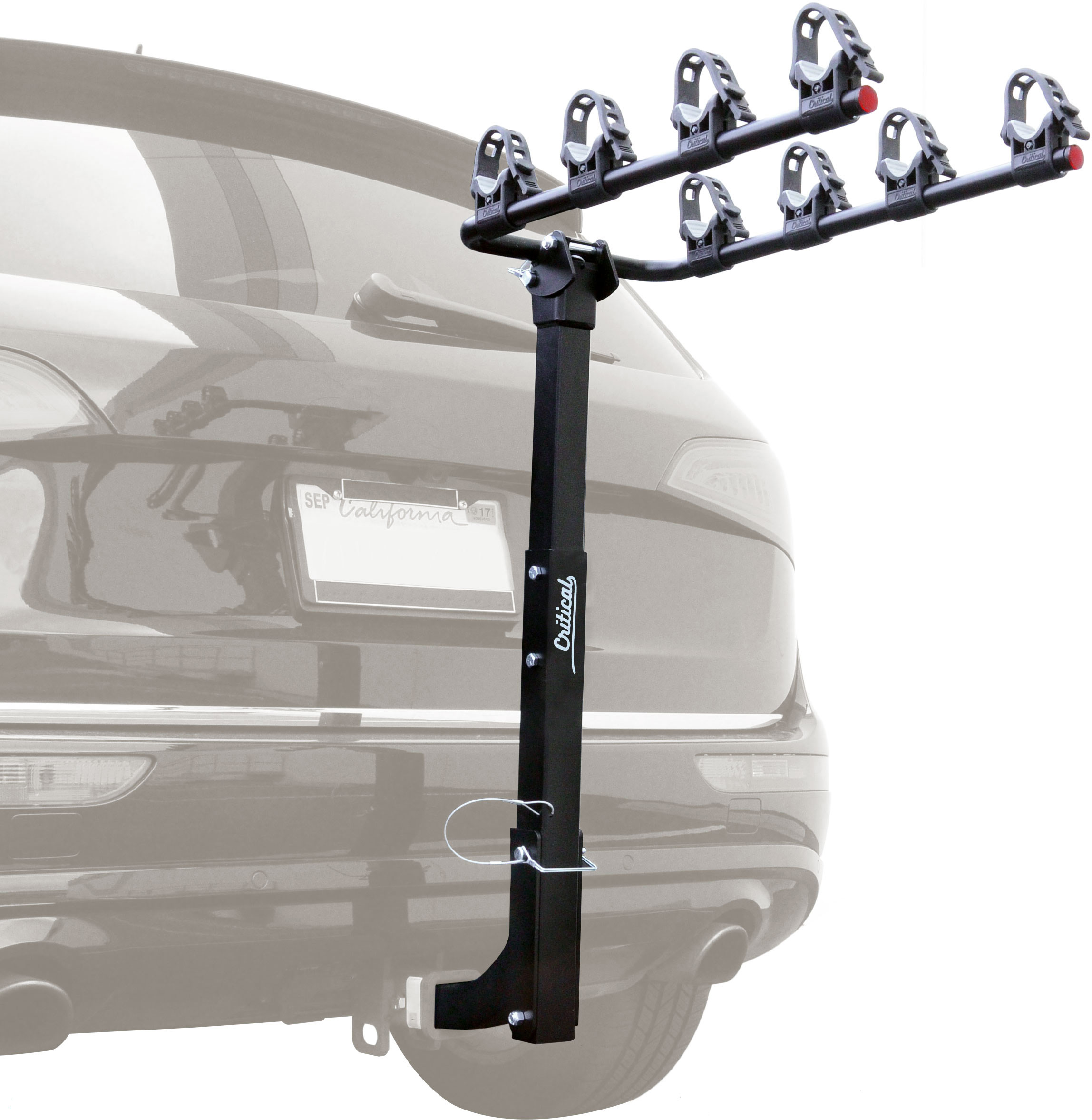 Critical Cycles Lenox 4-Bike Hitch Mount Rack with 2-Inch Receiver by Critical Cycles