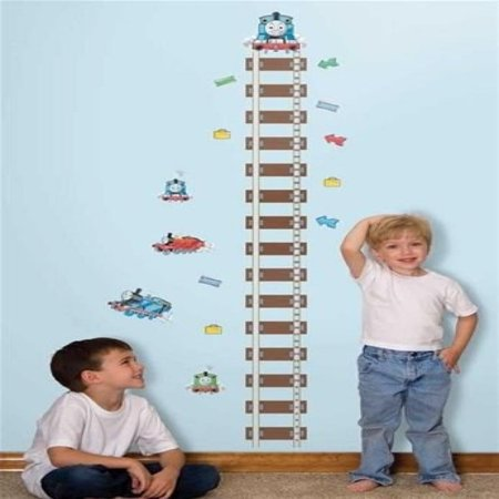 Thomas the Train Growth Chart Wall Stickers Kids Room Decor Vinyl Decals - Kids Wall Growth Chart