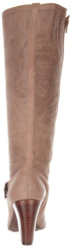 Mariana by GOLC Women's Trix Knee-High Boot,Taupe,39 EU/8.5-9 M US