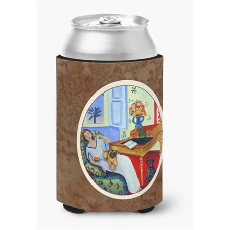 Lady with Her Pug Can or Bottle Hugger, 0.25 x 4 x 5.5 in. - image 1 de 1