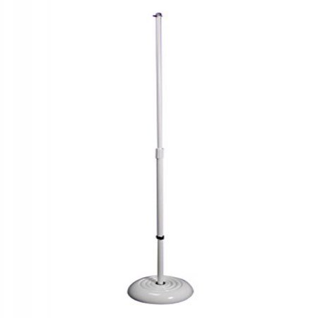 Round Base Mic Stand, White - image 1 de 1