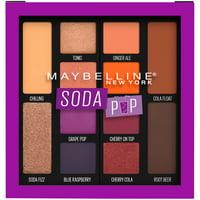 Maybelline Soda Pop Eyeshadow Palette Makeup, Soda Pop, 0.26 oz.