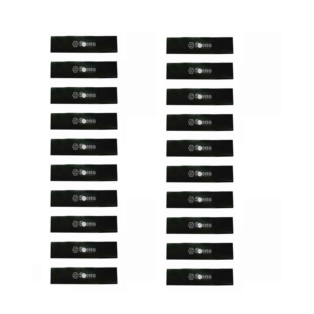"""Set Of 20 Stens Edger Blade 9"""" L x 2"""" W x 1 2"""" Round Ch"""