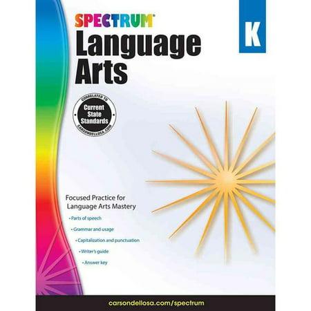 Spectrum Language Arts  Kindergarten