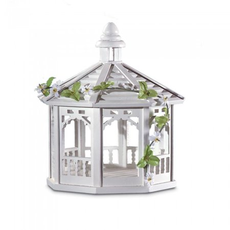 WHITE GAZEBO BIRD FEEDER (Gazebo Feeder)