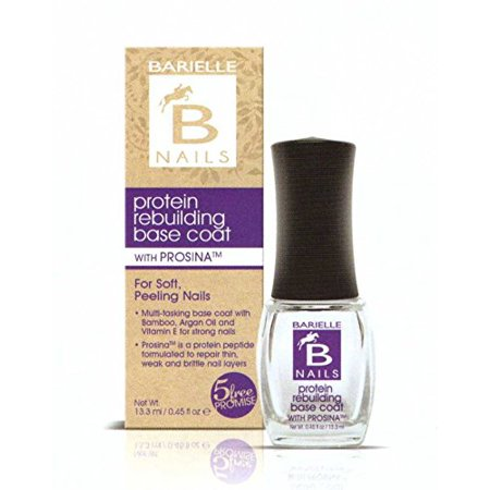 Barielle Protein Rebuilding Base Coat with Prosina .45 oz. (Pack of (Best Way To Rebuild Enamel)