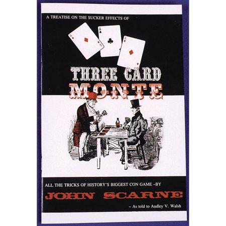 Morris Costumes John Scarne Three Card Monte 47 Pages Soft Bound