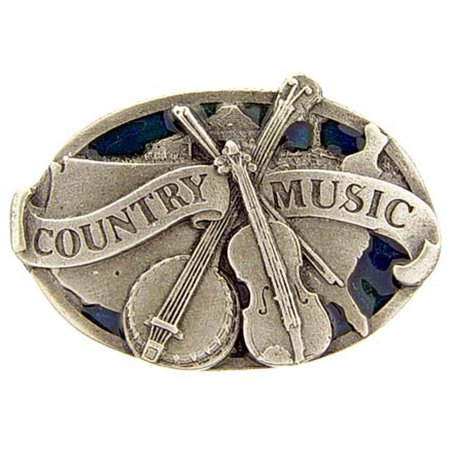 - Country Music Pin Pewter Pin 1