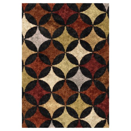 Orian Rugs Geometric Murry Hill Shag Area Rug