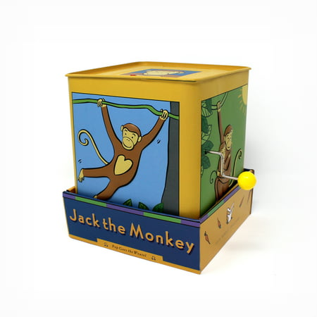 Jack Rabbit Creations Monkey Jack in the Box Toy