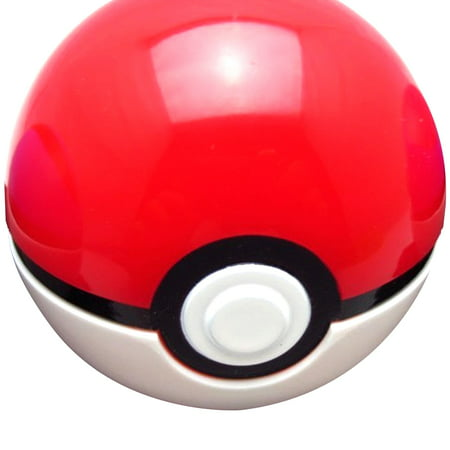 Ash Ketchum Costume Girl (Pokeball Pokemon Ash Ketchum Opens Closes Pokémon Prop Costume Toy Red White)