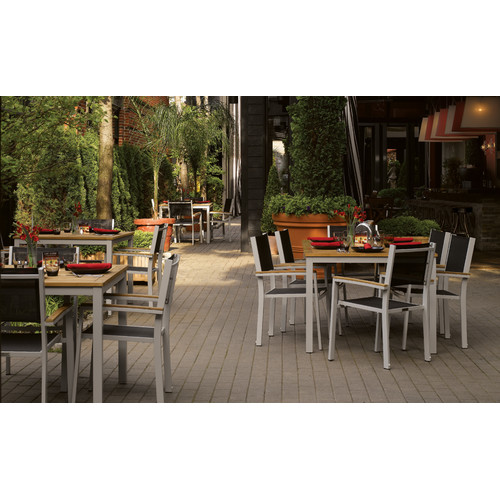 Oxford Garden Designs Travira Dining Arm Chair (Set of 2)