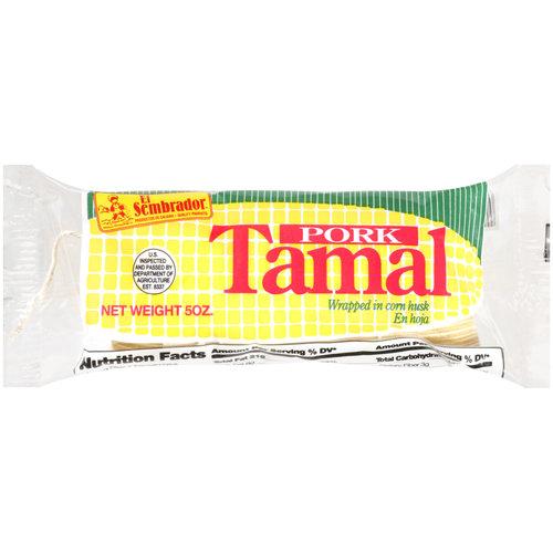 El Sembrador Pork Tamal, 5 oz