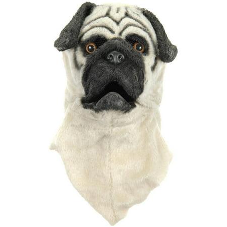 Pug Dog Costume Mouth Mover Mask
