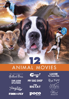 12 Animal Movies (DVD) by Mill Creek Entertainment