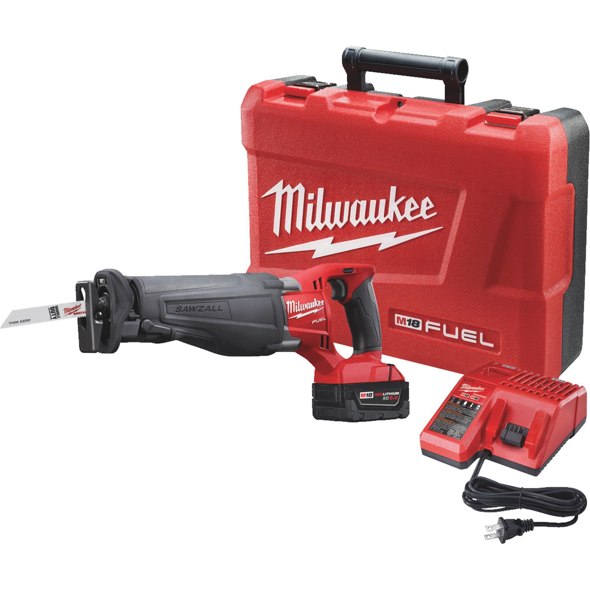 M18 Fuel Sawzall Reciprocating Saw Kit by Milwaukee