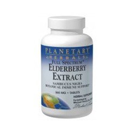 Full Spectrum Elderberry Extract 525mg Planetary Herbals 90 Tabs