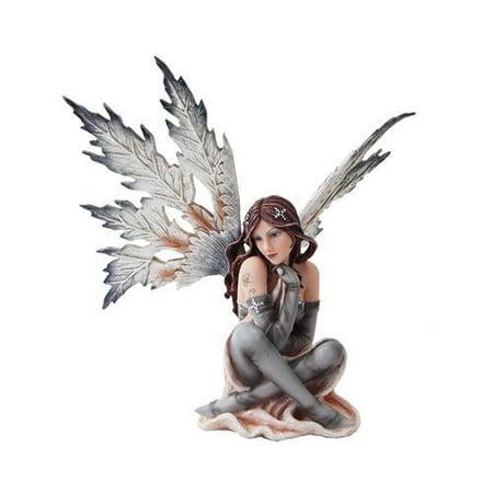 Winter Fairies (14 Inch Winter Wonderland Snowflake Winged Fairy Statue)