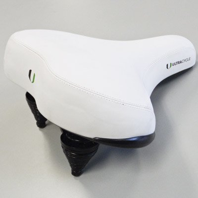 UC SADDLE CRUISER GEL 300 WHITE 300MMx280MM