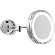 Electric Mirror EMHL10-BN Blush Wall Mounted Lighted Makeup Mirror in Brushed Nickel Finish from AVBproducts