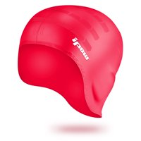 7561fbf144e Product Image Waterproof Silicone Swimming Cap-IPOW Over the Ear Swim Hat  Cap Stretchy for Unisex Adults
