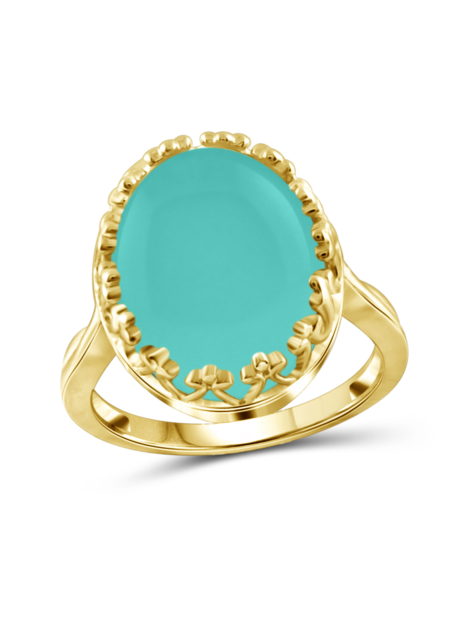 JewelersClub 9-3 4 Carat T.G.W. Chalcedony 14kt Gold over Silver Fashion Ring by JewelersClub