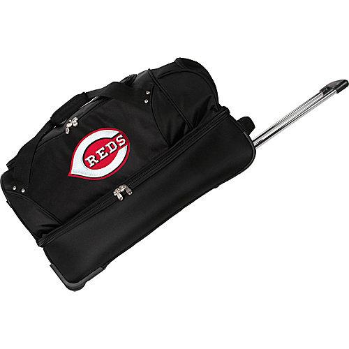 "Denco Sports Luggage MLB 27"" Drop Bottom Wheeled Duffel Bag"