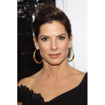 Sandra Bullock At Arrivals For The Blind Side Premiere The Ziegfeld Theatre New York Ny November 17 2009 Photo By Rob Kimeverett Collection Photo Print