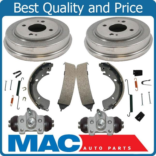 Brembo Brake Kit Front Disc Rotors Ceramic Pads Rear Drums Shoes For Honda Civic