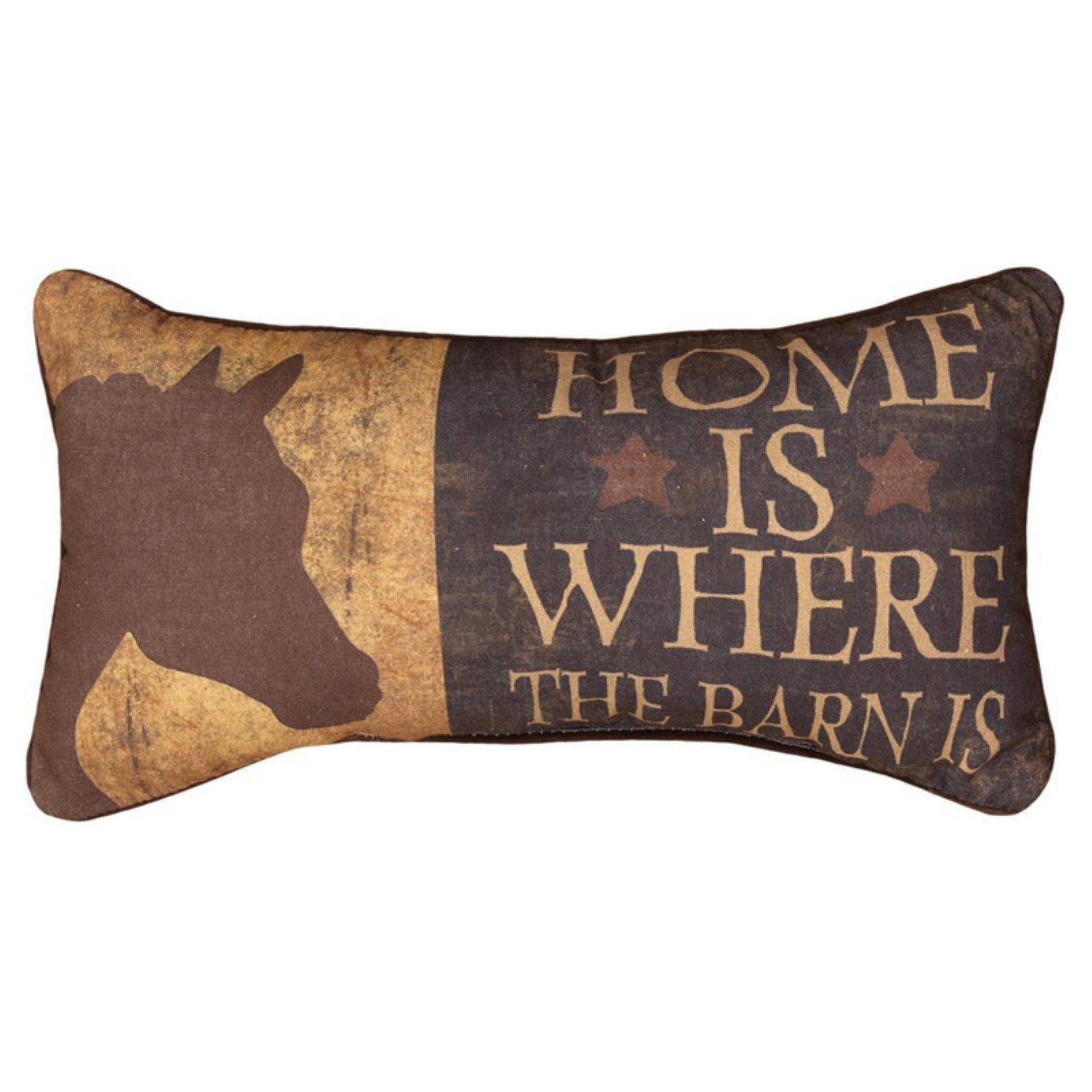 Manual Home Is Where the Barn Is Decorative Pillow