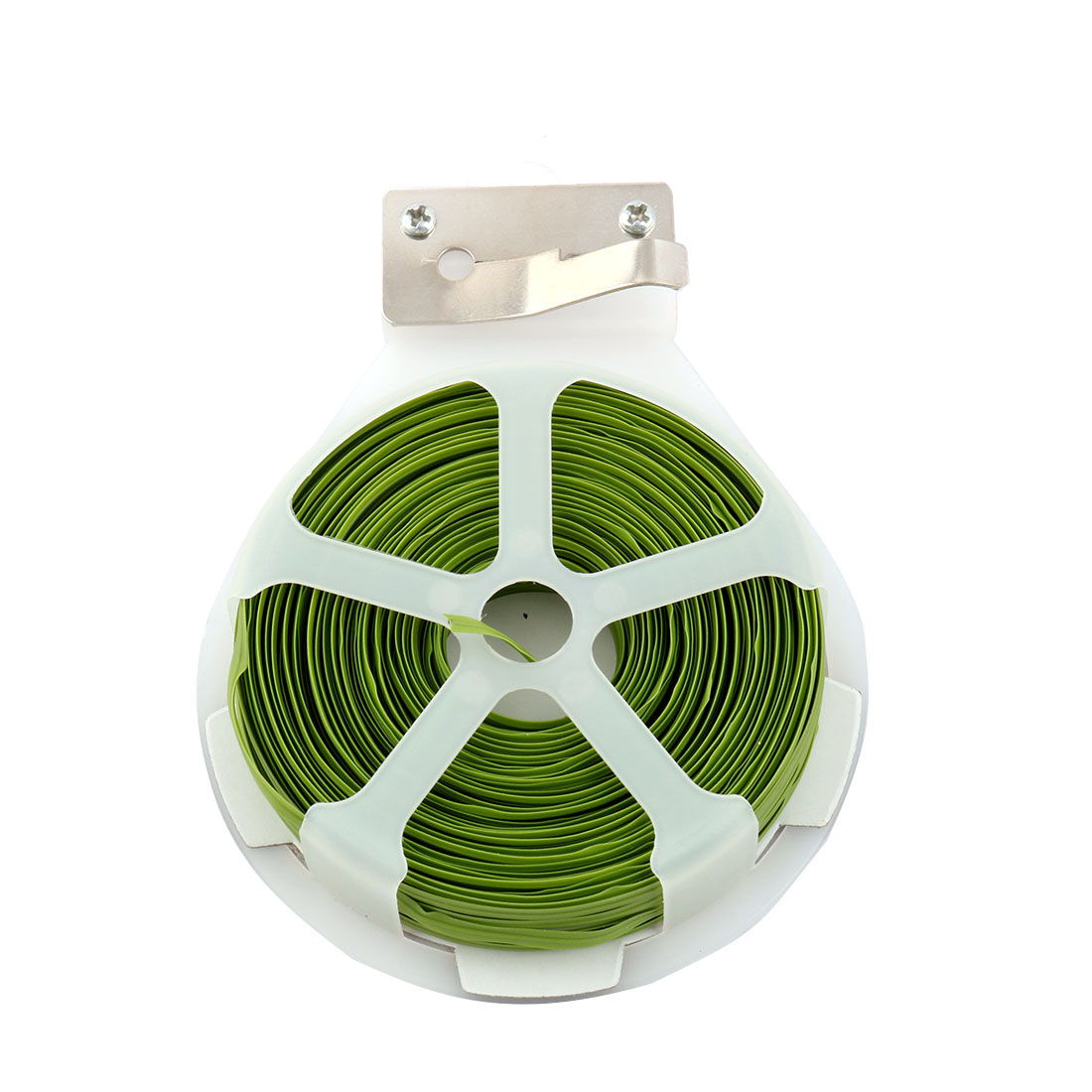 Household Garden Parterre Plastic Gardening Packing Craft Tape Strap Lawn Green
