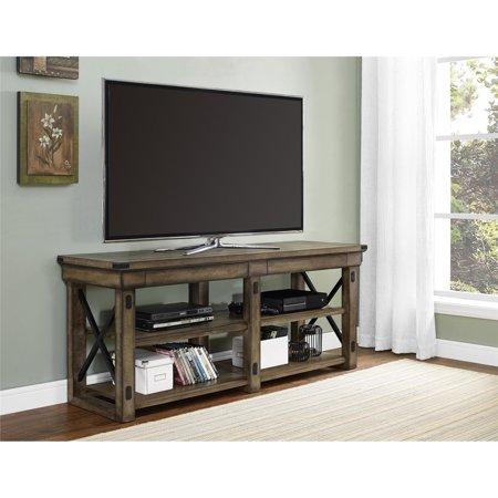 Ameriwood Home Wildwood Tv Stand Rustic Gray Walmart Com