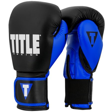 - Title Boxing Dynamic Strike Hook and Loop Heavy Bag Gloves